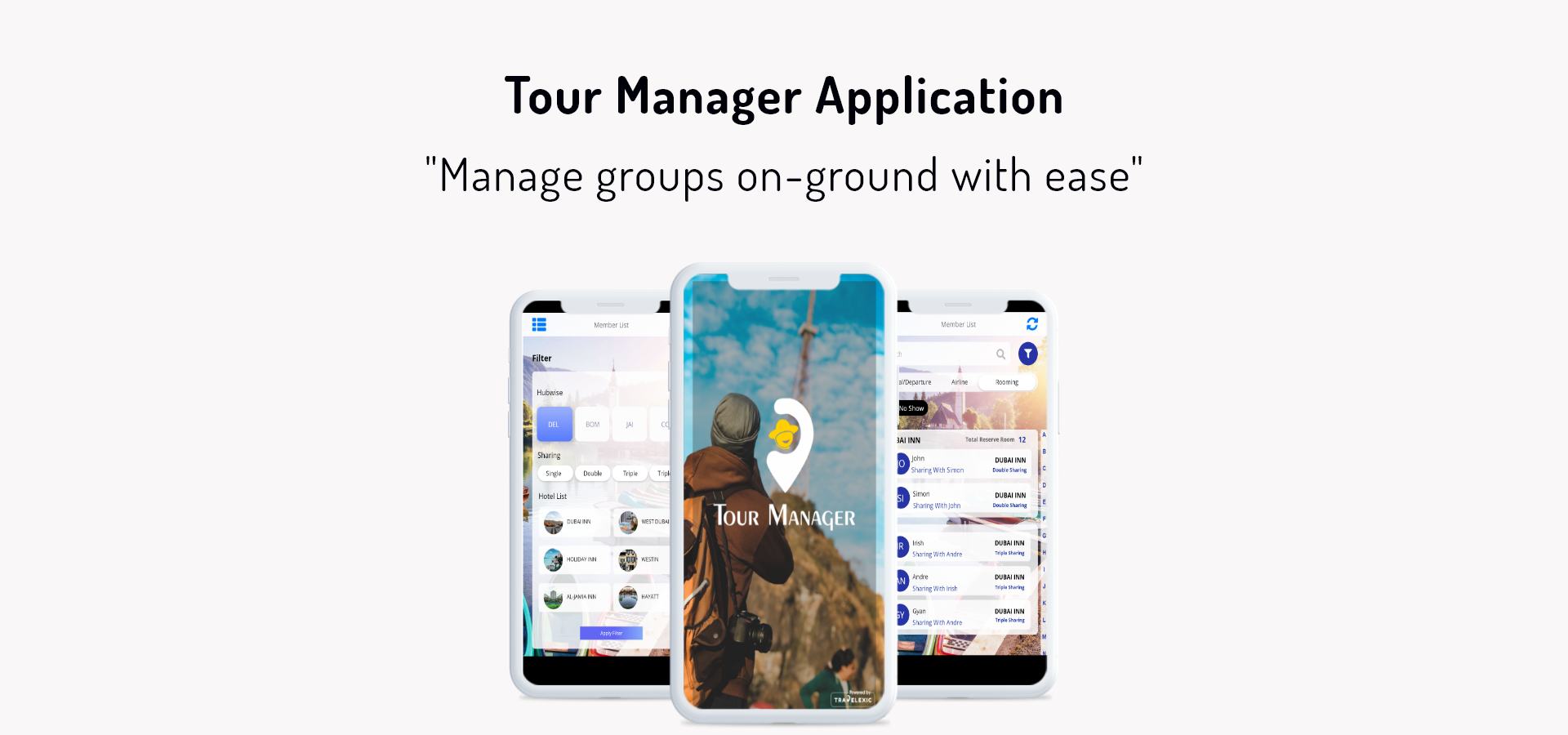 Tour Manager Application