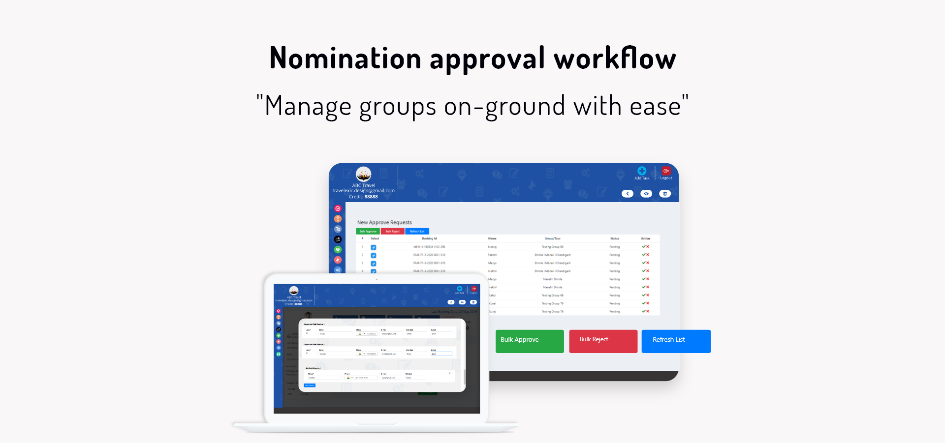 Nomination Approval Workflow