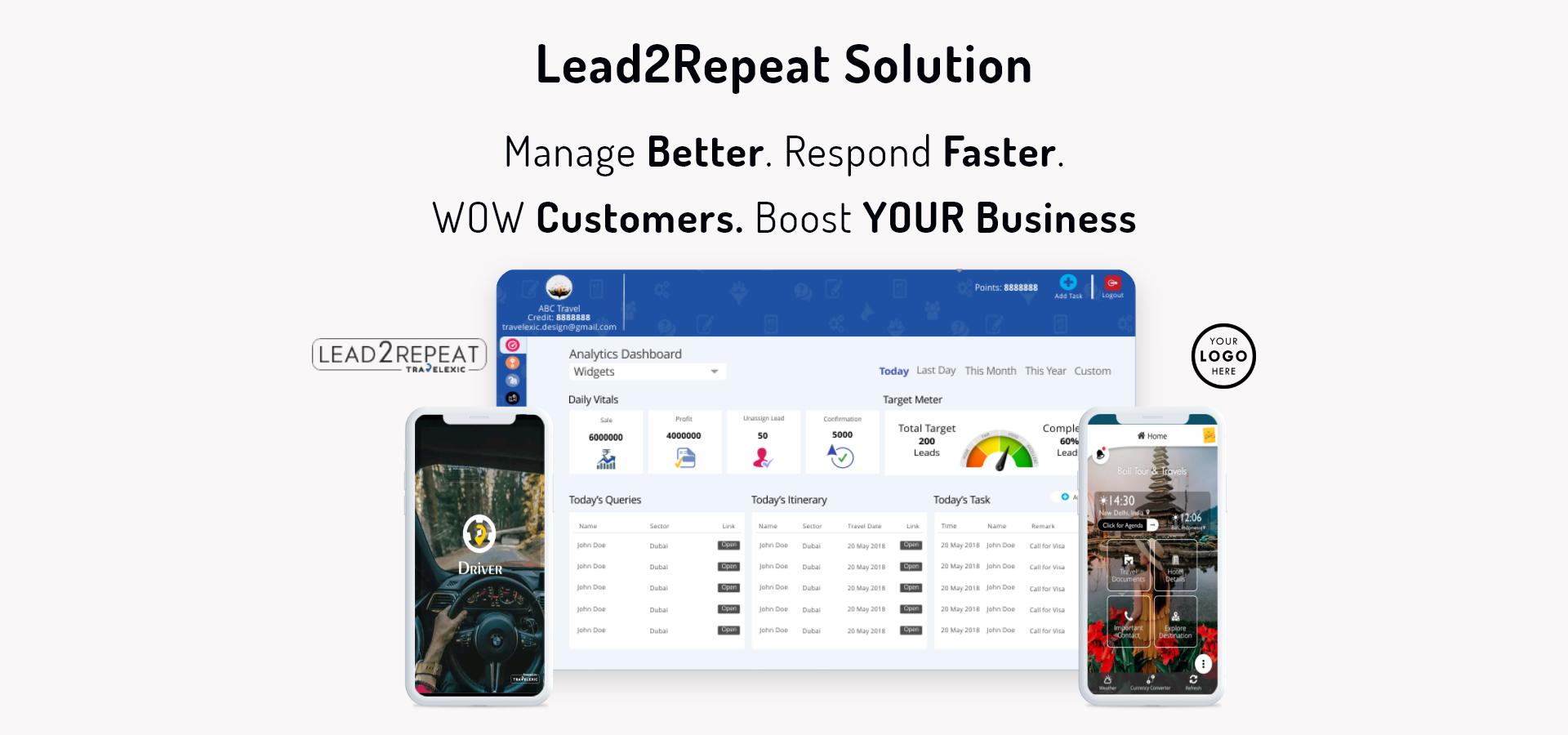 Lead2Repeat Solution