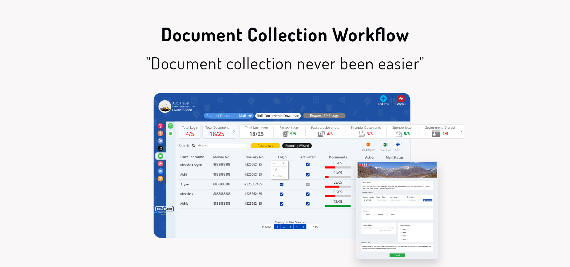 Document Collection Workflow